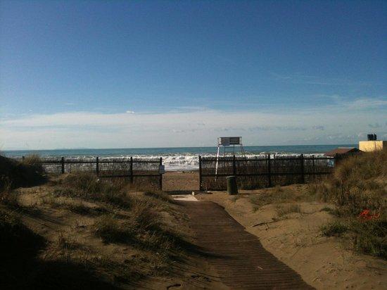 Tombolo Talasso Resort: Il mare d'inverno