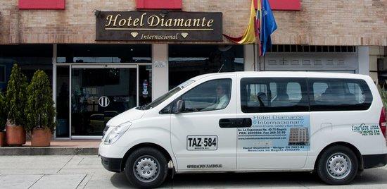 Hotel Diamante Internacional: TRANSPORTE