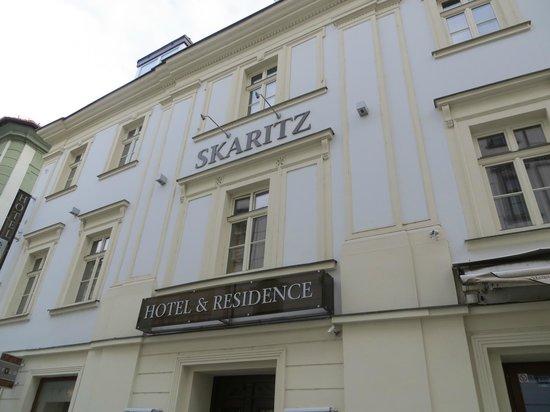 Skaritz Hotel & Residence:                   Exteriör