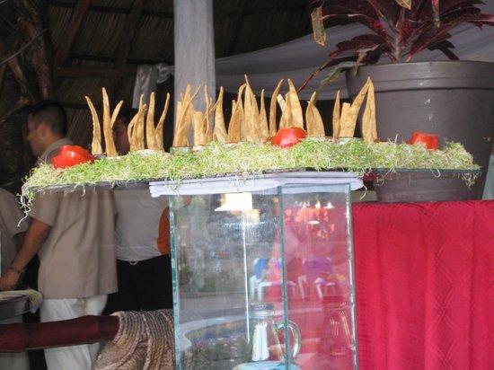 Hacienda Buenaventura Hotel Spa & Beach Club:                   Appetizers
