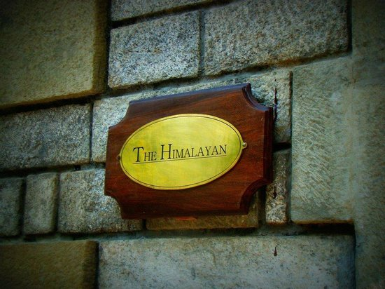 The Himalayan:                   entrance