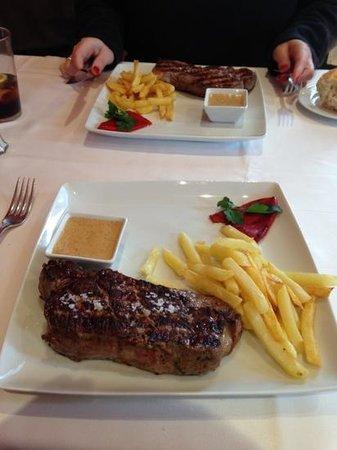 Restaurante Alcaravea:                   entrecot
