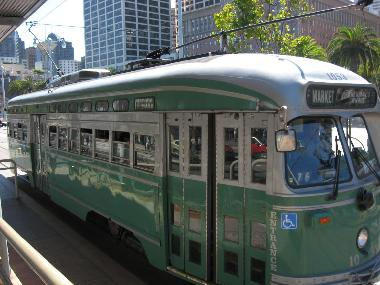 SF Historic Street Car
