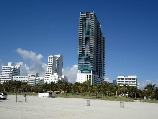 W South Beach:                                     hotel dalla spiaggia