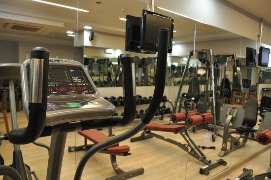 Corfu Mare Boutique Hotel: Fitness Center & Yoga Studio