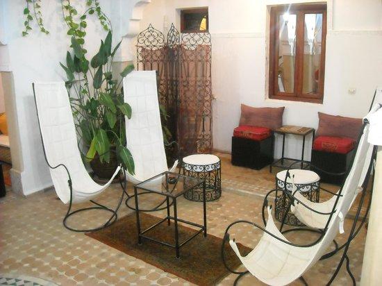 Riad Les Jardins Mandaline:                   salon