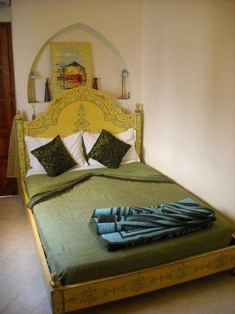 Riad Les Jardins Mandaline:                   chambre tazrara