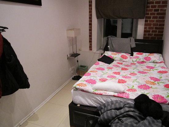 Petrovka Loft:                                     O meu quarto (nº8)
