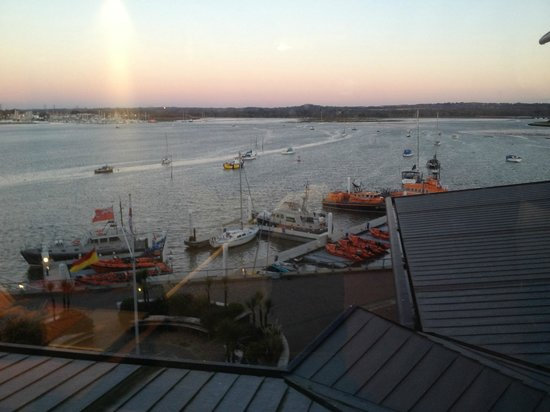 RNLI College:                   View from my room.