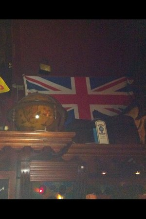 Dronning Louise : As seen above the bar