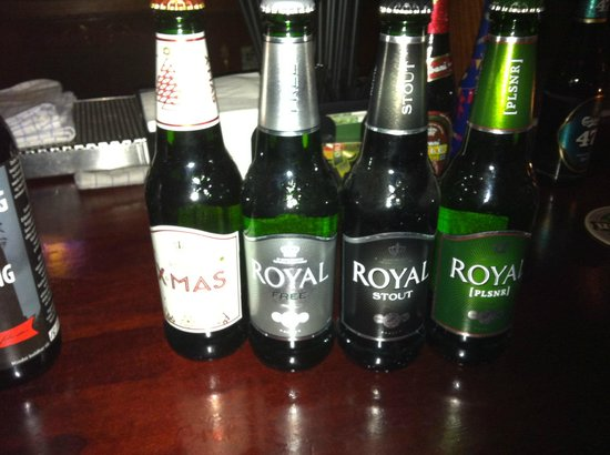 Dronning Louise : A fine selection of Royal ale