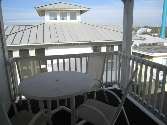 Desoto Beach Hotel: Second bedroom balcony
