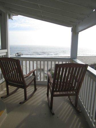 Desoto Beach Hotel: Veranda