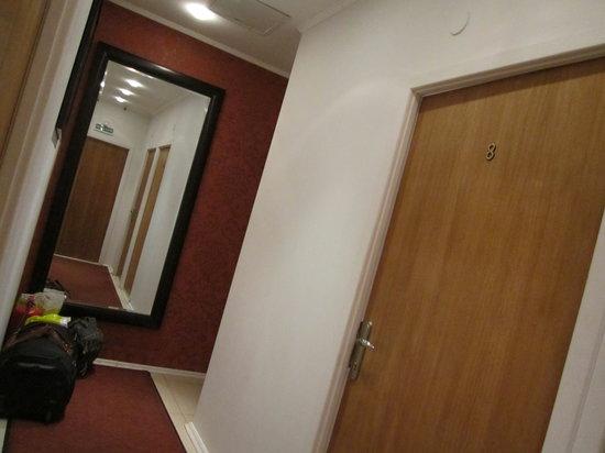 mini hotel Petrovka Loft:                                     O local onde nos deixam guardar a bagagem.....