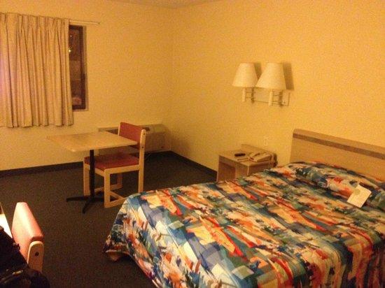 موتل 6 نيو هافن - برانفورد: Bed area