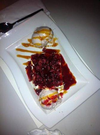 Chocolat Vingt-Quatre:                                     cheese cake con gelato
