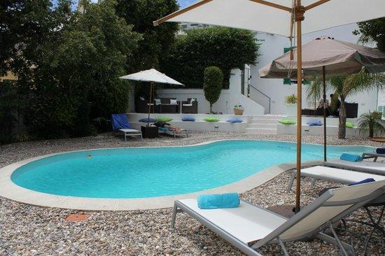 AfricanHome Guesthouse:                   Entspannung im Garten