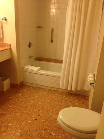 Fairmont Waterfront: Tub