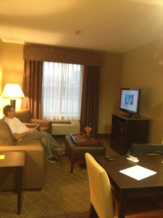 Homewood Suites by Hilton Waco, Texas:                   living room