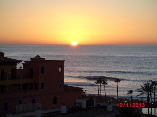 H10 Conquistador:                   coucher de soleil pris à 18H00