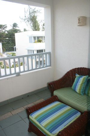 Savannah Beach Hotel:                                     Balcony