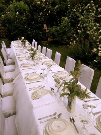 Casa Glebinias:                                     Dinner under the stars