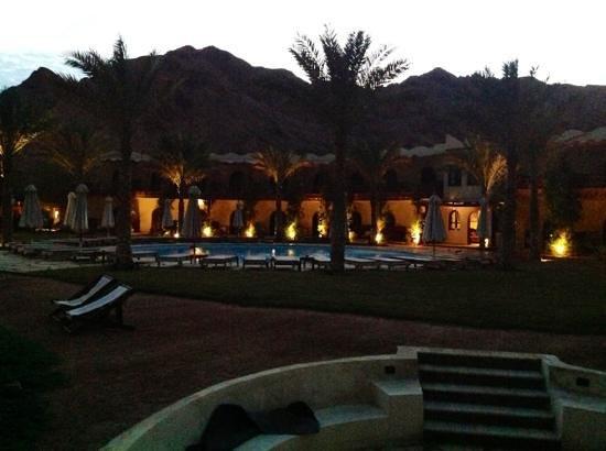 Dahab Paradise:                   De avond valt......
