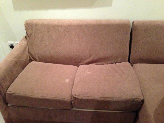 Abidos Hotel Apartment - Al Barsha:                                     Sofa
