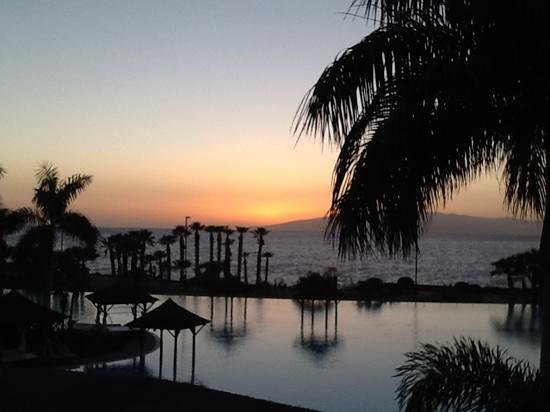 Gran Melia Palacio de Isora Resort & Spa:                   beautiful sunsets