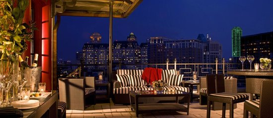 Le Meridien Dallas, The Stoneleigh: Penthouse Terrace