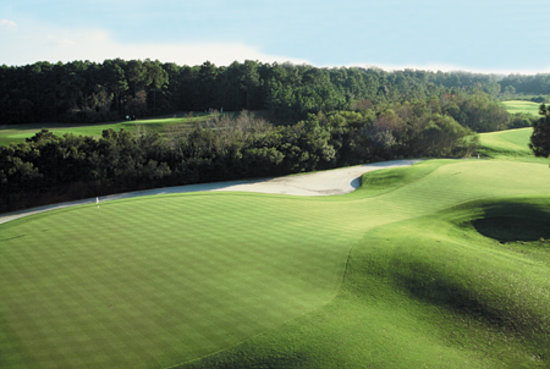 Hilton Head National: A view of the 18th green.