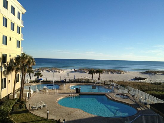 SpringHill Suites by Marriott Pensacola Beach: View from Room 224