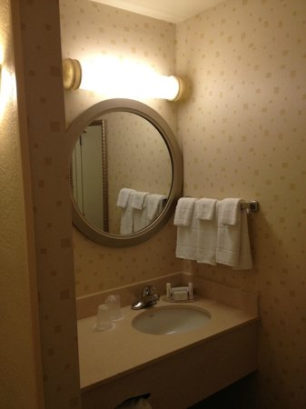 SpringHill Suites Pensacola Beach: Bathroom vanity