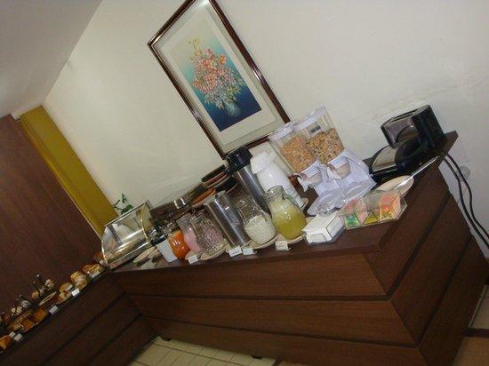 Palace Hotel:                   Café da manhã