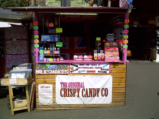 The Original Crispy Candy Co: When we first opened in Camden, London