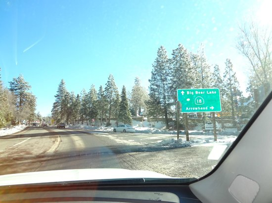 Robinhood Resort:                   Chegada em Big Bear