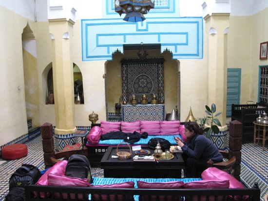 Riad Amazigh Meknes: Patio