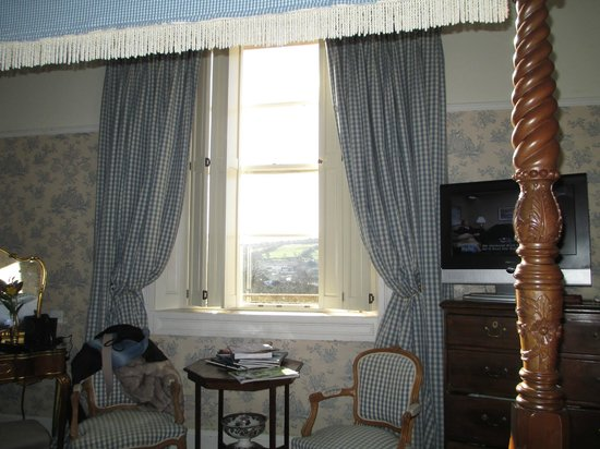Apsley House Hotel:                                     view from bed