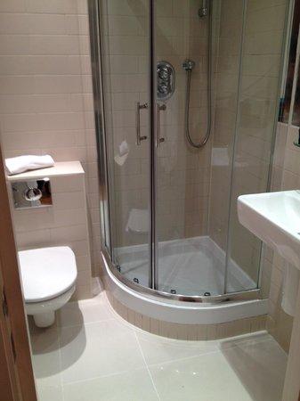 Hyde Park Executive Apartments:                   Bathroom club suite