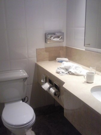 Hilton London Kensington:                   Bathroom