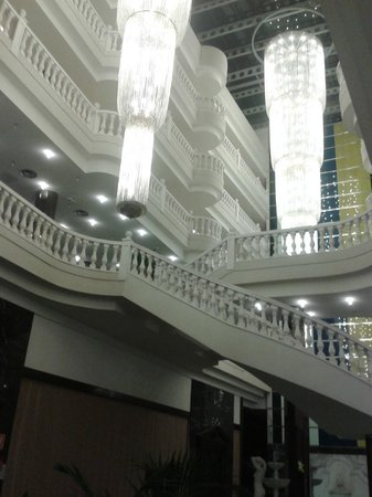 Cleopatra Palace Hotel:                   Inside of the Hotel