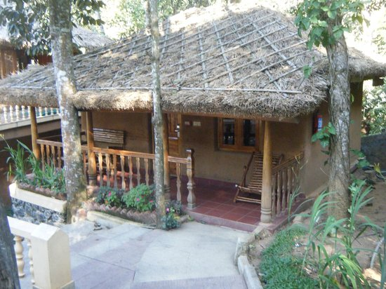 Thekkady - Woods n Spice, A Sterling Holidays Resort:                   thatched cottage