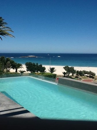 POD Camps Bay:                   view from pool & bar area