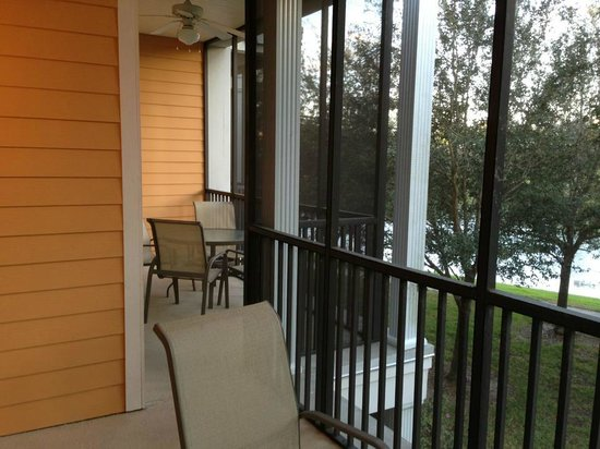 Bahama Bay Resort Orlando by Wyndham Vacation Rentals:                                     Porch