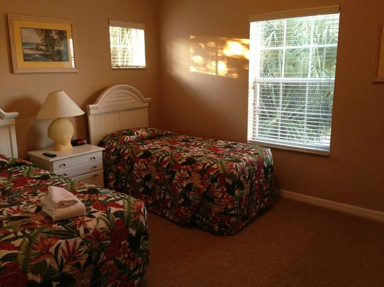 Bahama Bay Resort Orlando by Wyndham Vacation Rentals:                                     2nd Bedroom