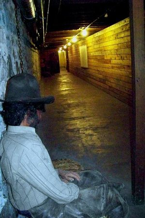 Pendleton Underground Tour:                   Underground Pendleton