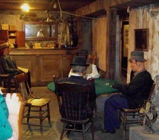 Pendleton Underground Tour:                   Gamblers