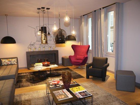 Le Grey Hotel:                                     Lounge