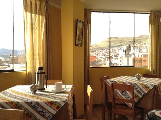 Santa Maria Inn Puno:                   restaurant