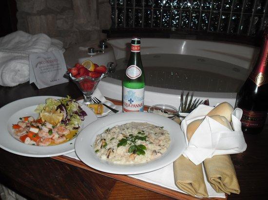 Motel K:                                     menu' di pesce